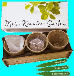 Kräuter Garten-Geschenk zum 70 Geburtstag