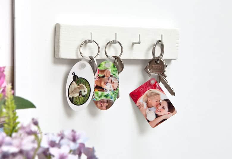 Foto Geschenk Großeltern - Schlüsselanhänger