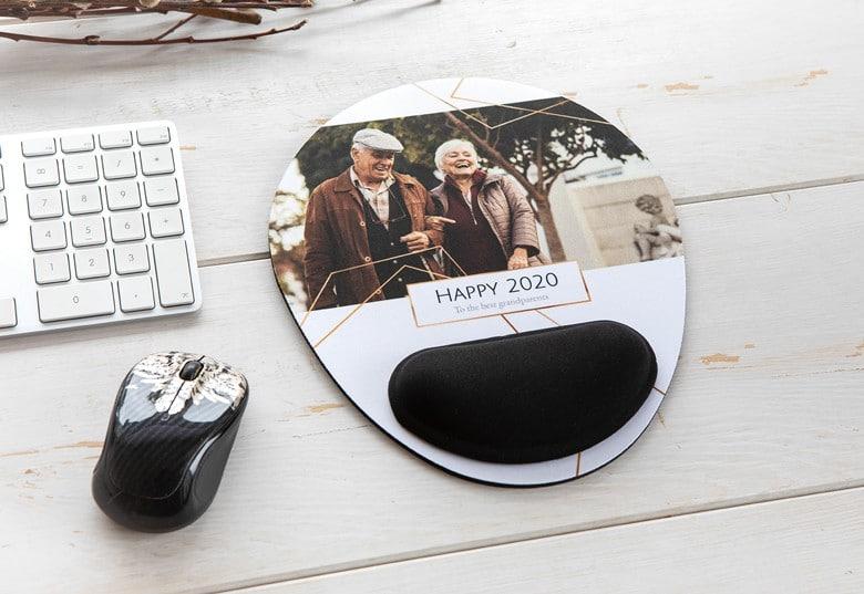 Mausmatte - Geschenk mit Foto für Großeltern